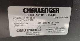 """De vende televisor tv Challenger 32"""" para repuestos"""