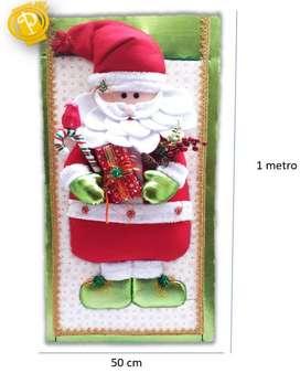 NAVIDAD Cuadro Papá Noel navideño