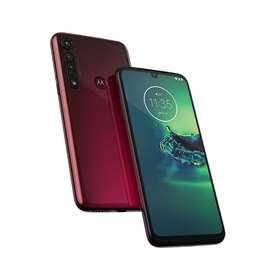 Celular Motorola Moto G8 Plus 64GB Alm/ RAM 3GB Rojo 1 Año de Garantia.