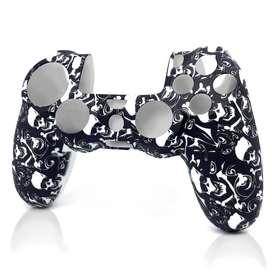 Funda para control de PS4/ Black Skull- RAC CustomControl (RAC_0655)