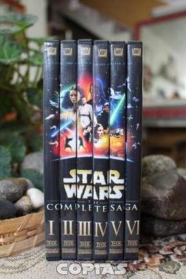 Star Wars, Colección en Dvd, 6 películas, Excelente Calidad
