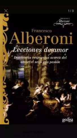 LECCIONES DE AMOR. ALBERONI