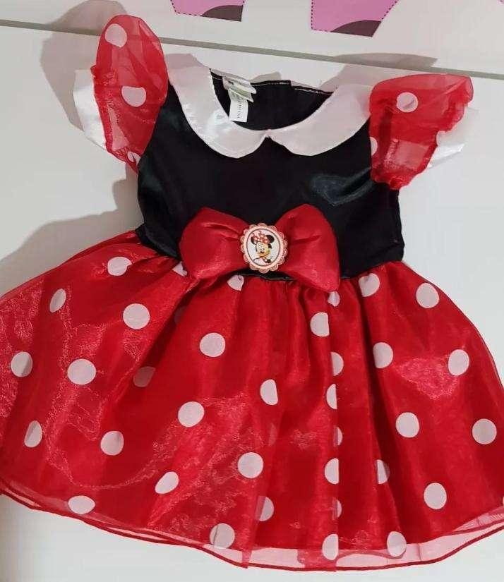 Disfraz De Minie Mouse, Tienda Disney. Nuevo. 3a6 Meses 0