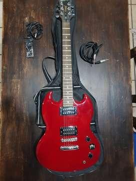 Guitarra y amplificador nuevos
