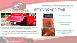 ROTOCULTIVADORES DE ALTA CALIDAD Y RESPALDO AGRISTAR