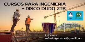 Cursos De Ingeniería + Disco Duro 2 Tb
