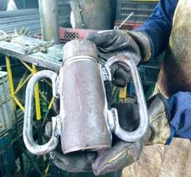 Fabricantes de tacos metalicos, cerchas, andamio tubular y andamio colgante.