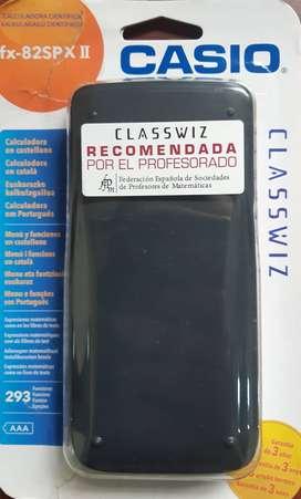 Venta calculadora científica CASIO fx- 82SPX II