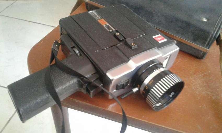 Antigua Camara Filmadora de Mano Vintage