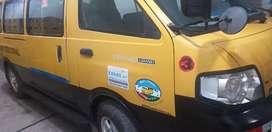 Buceta amarilla para transporte escolar