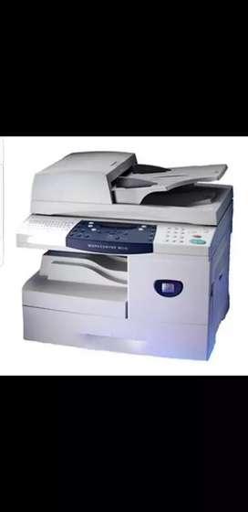 Vendo fotocopiadora multifunción usada