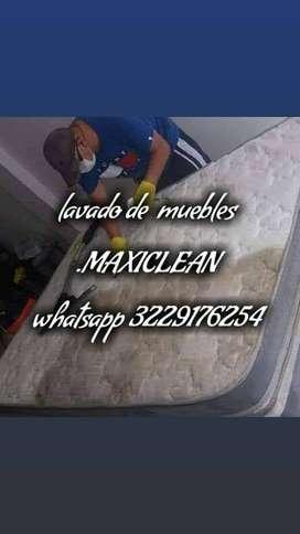 Limpieza de Muebles Maxiclean.