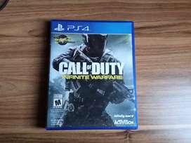Call of duty Infinity Warfare PS4 En Español