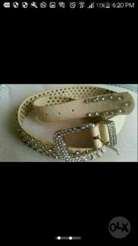 Cinturon de Mujer con Piedras