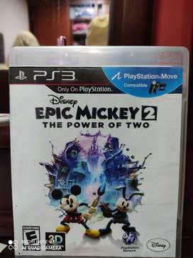Epic Mickey 2 The power of two, juego para Play3