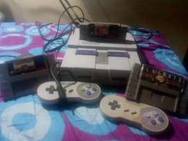 Vendo super Nintendo bueno