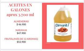 GALON DE ACEITE DE ALMENDRAS