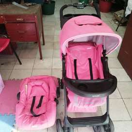 coche para bebe usado marca infanti