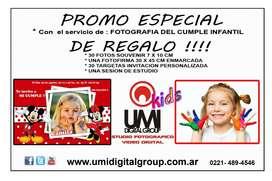 FOTOGRAFIA  REGALOS CUMPLE INFANTIL