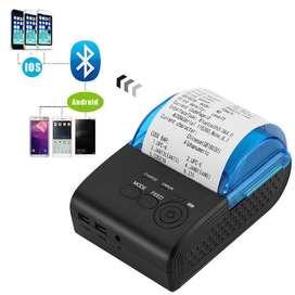 impresora Portátil Mini 58mm Bluetooth inalámbrico de bolsillo Térmica