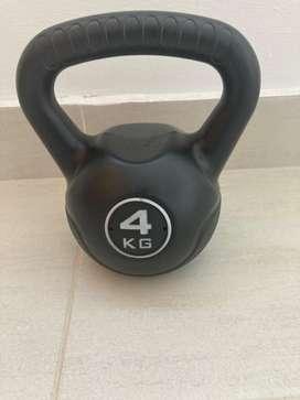 Pesa de hacer ejercicio de 4kg