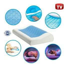 Almohada de en gel cervical cool pillowv restform ortopedica