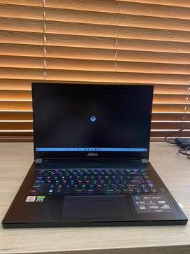"""Portatil MSI - GS66 10SE 15.6"""" Laptop - Intel Core i7 - 16GB Memory - NVIDIA GeForce RTX 2060 - 512GB SSD - Black Core"""