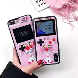Case gamer de la Pantera Rosa (Iphone 6 y X)