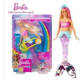 Barbie Sirena Luces Brillantes Mueve Cola Dreamtopia Origina