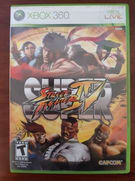 Super Street Fighter 4 - Xbox 360
