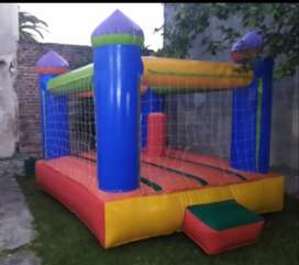 Alquiler inflable pelotero con motor