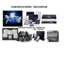 CENTRALES TELEFONICAS REDES CAMARAS SERVICIO TECNICO