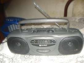 Radiograbador Newtech Ps 202 Impecable Funcionando No Envio