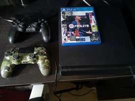 PS4 slim de 1 tera