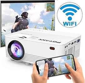 PROYECTOR LED HD 1080P USB, SD, WIFI 1200 LUMEN