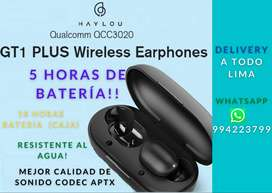 Audifonos Bluetooth HAYLOU GT1 PLUS NUEVO
