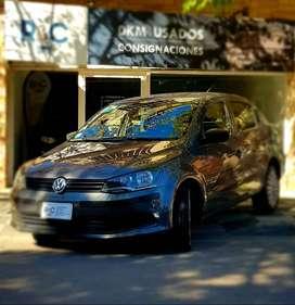 Volkswagen Voyage 1.6L i-Motion '13 - 60.700km - Única mano