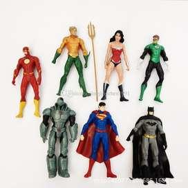 Liga de la Justicia New 52: Set de 7 figuras