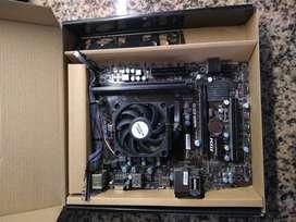 Combo PC A68hm-e33v2, A4 4000, 8GB