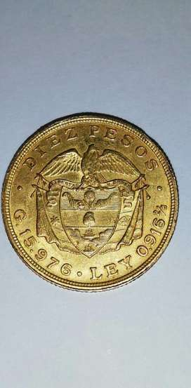 Moneda Oro Antigua Usd 1000