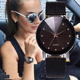 reloj soleil mujer ilusion of time cuero analogo