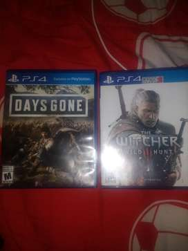 The Witcher 3/ Days Gone PS4