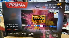 Televisor Prima Smart Tv 40 Pulgadas Full HD Nuevos