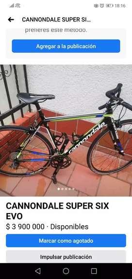 Cannondale super six evo Carbono