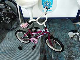 Vendo bicicleta para niño/a