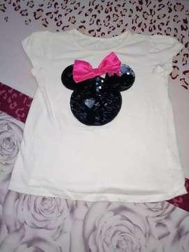 Blusita de Minnie mouse