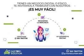 Servicios de mensajería domicilios en Bogotá y sus alrededores
