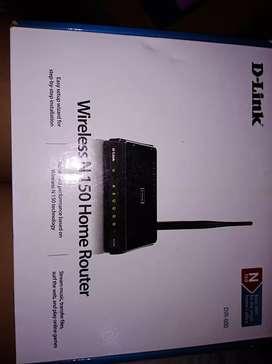 Vendo router D-link