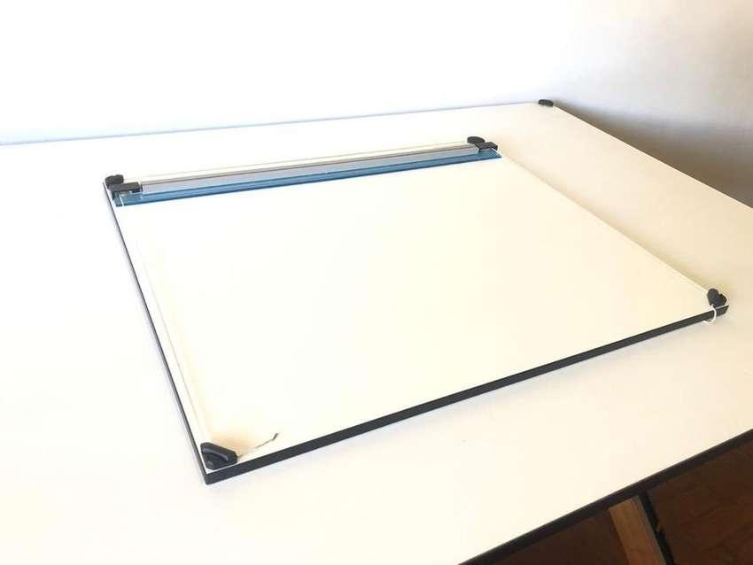 Tablero Dibujo Técnico Plantec 50x60cm + Estuche 0