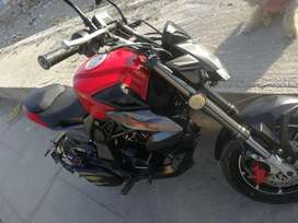 Moto marca fenix modelo avatar 125